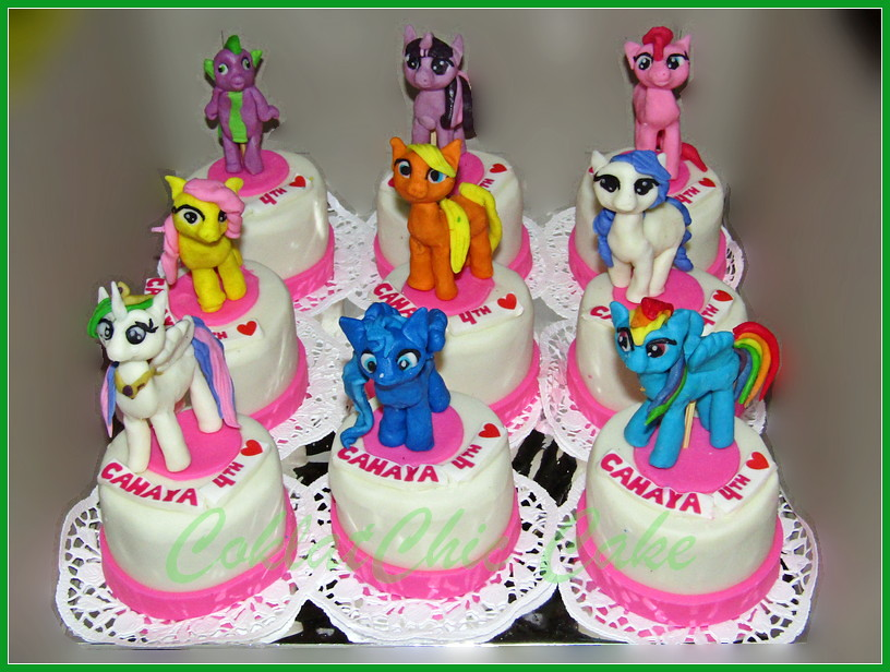Minicake My Little Pony