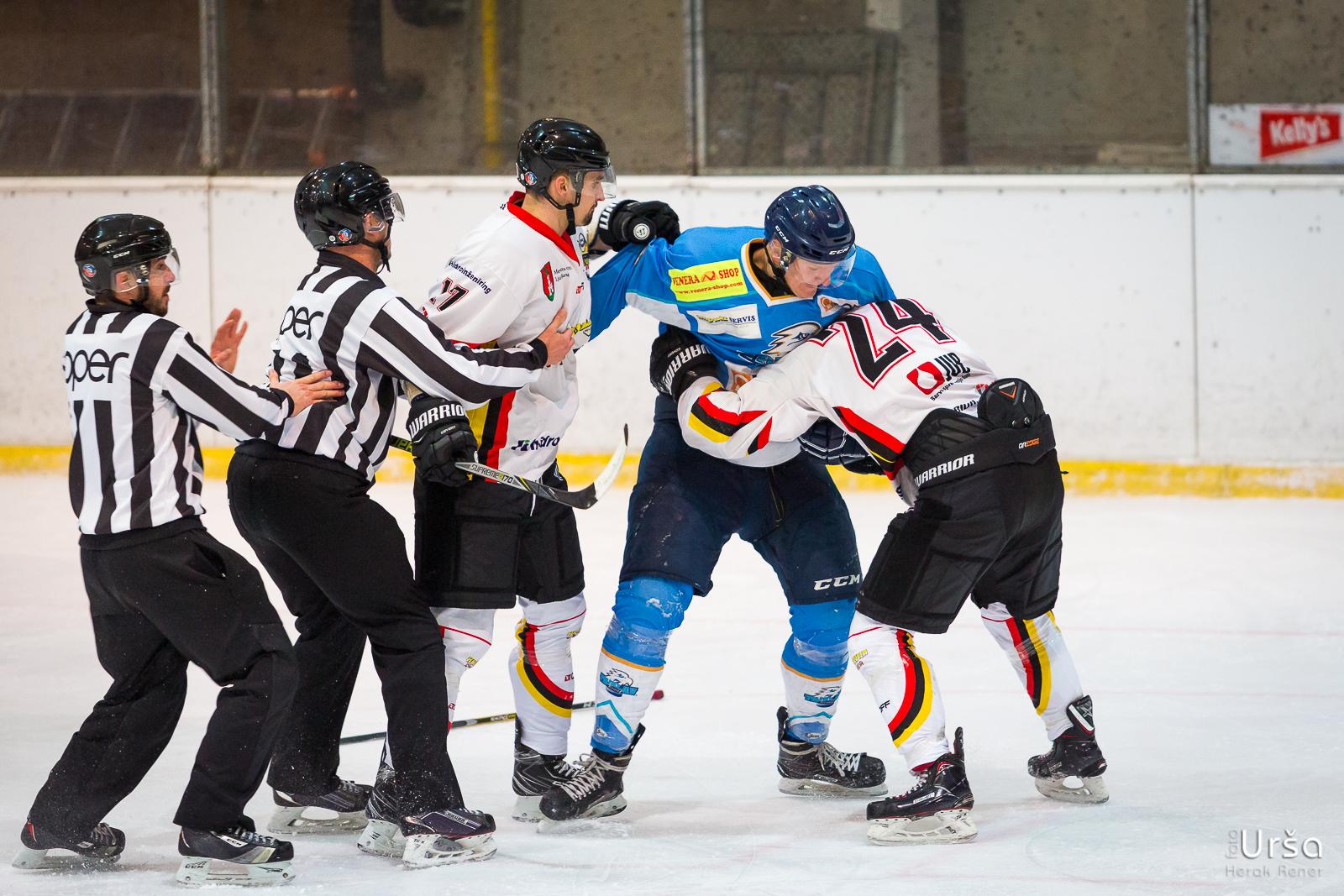 Tekma IHL člani HK Triglav vs. HK Slavija Junior, 22.12.2018