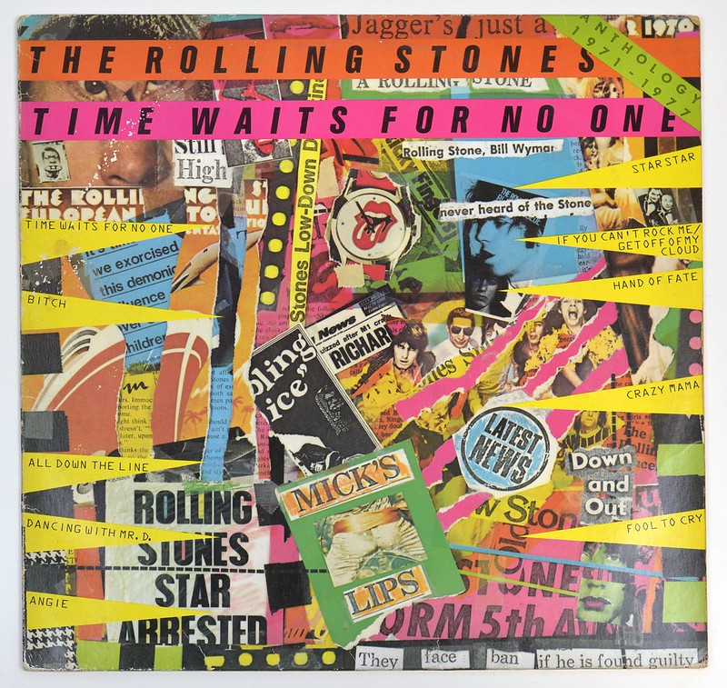 ROLLING STONES Time Waits For No One (Anthology 1971-1977