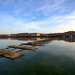 Calm at Preston Docks