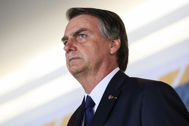Jair Bolsonaro exonerou o atual presidente da Empresa Brasil de Comunicação (EBC) - Créditos: Marcos Corrêa | PR
