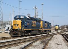 CSX 6470 (GP40-2) Leewood Yard Memphis, Tennessee