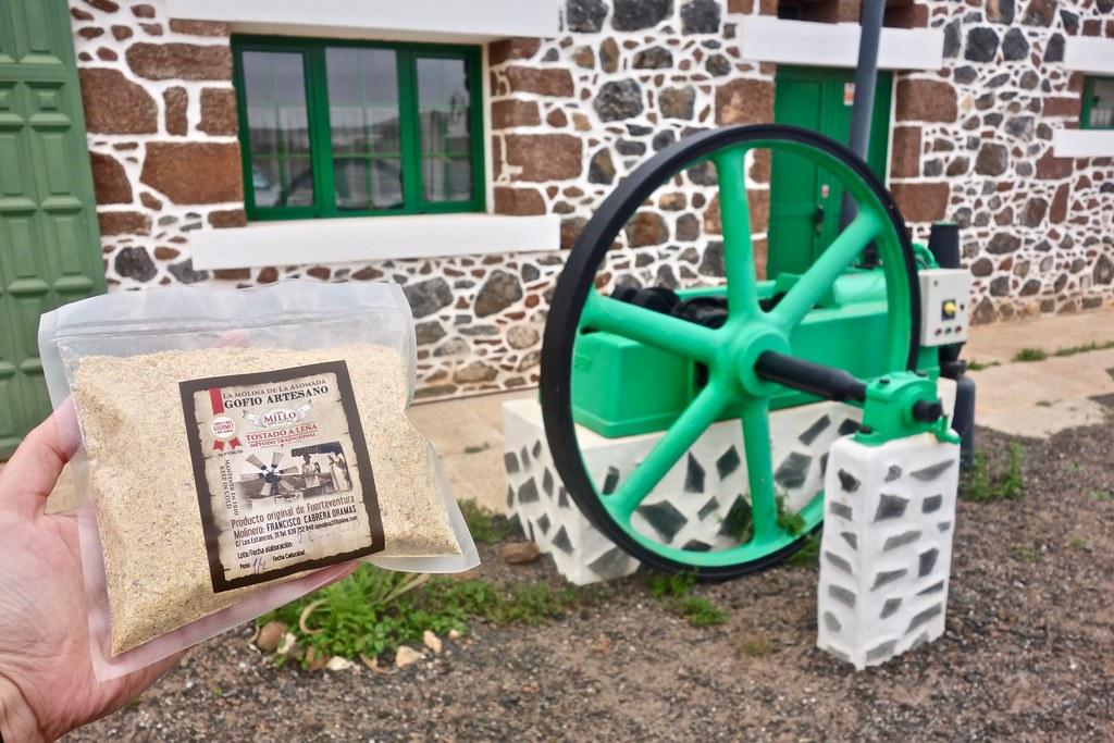Museo del Gofio a Fuerteventura - Gofio in sacchetto