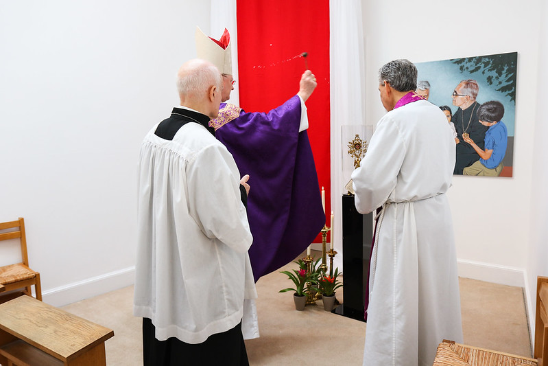 Consecration of the Romero Shrine in Edinburgh