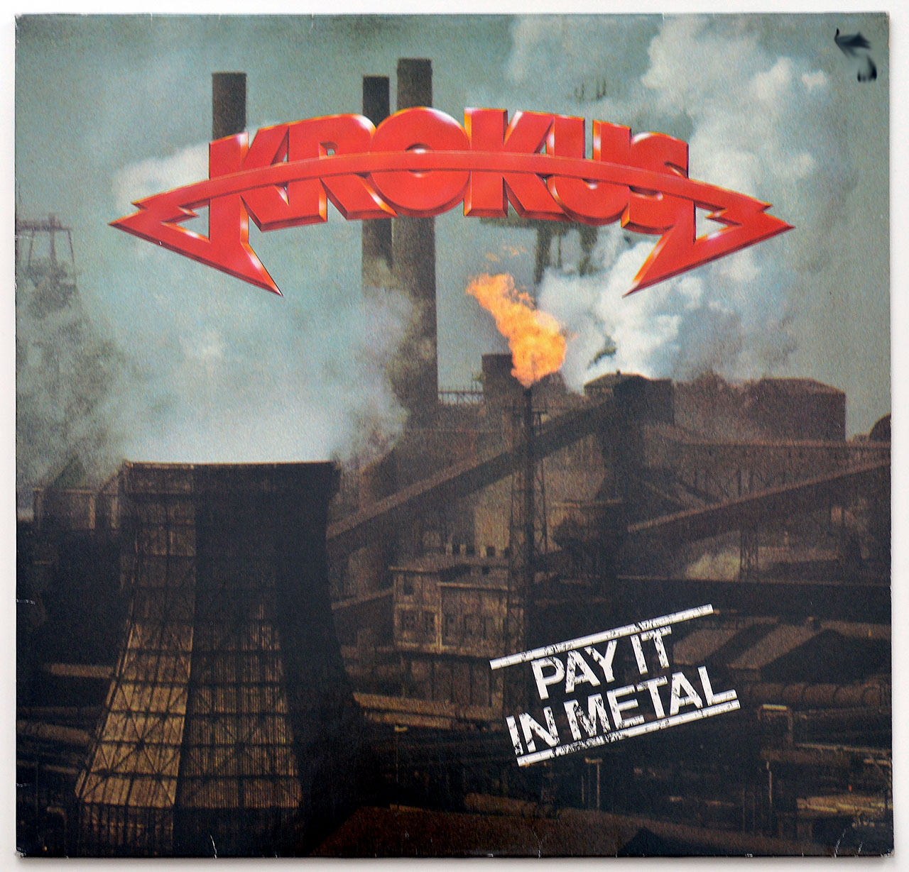 A0740 KROKUS Pay In Metal