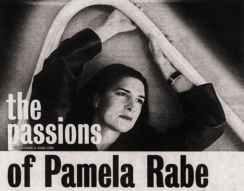 Pamela Rabe | Photo by Paul Jones 1995