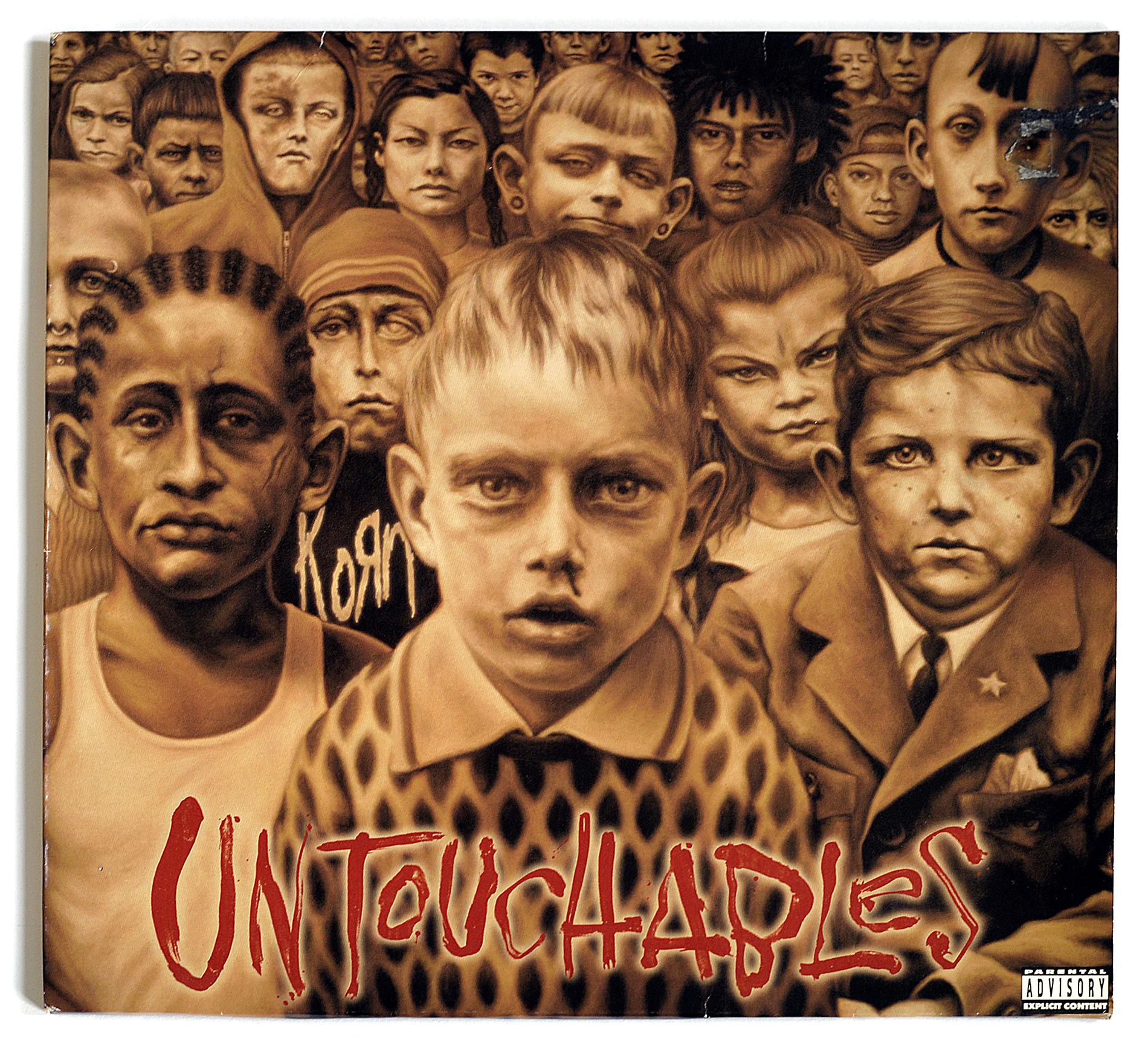 A0342 Korn Untouchables 2LP