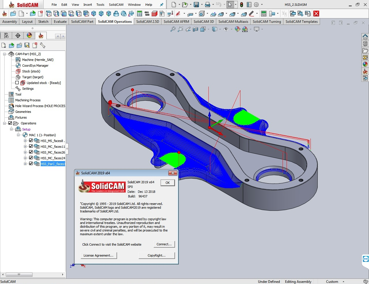 Working with SolidCAD SolidCAM 2019 SP0 Standalone x64 full license