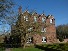 The house at Moseley Old Hall