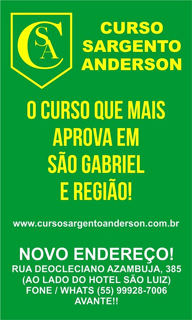 Curso Sargento Anderson
