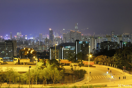 Lung Kui Road at Night