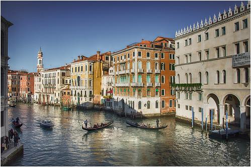 Venezia ... il Canal Grande ...