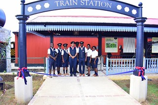 Official opening of the St Nicholas Abbey Heritage Railway (3) | by barbadosgovernmentinformationservice