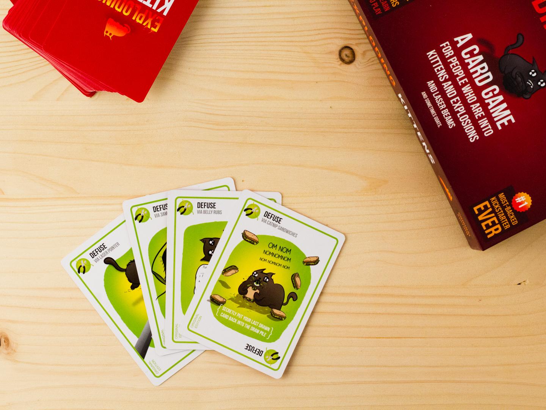 Defuse kaarten