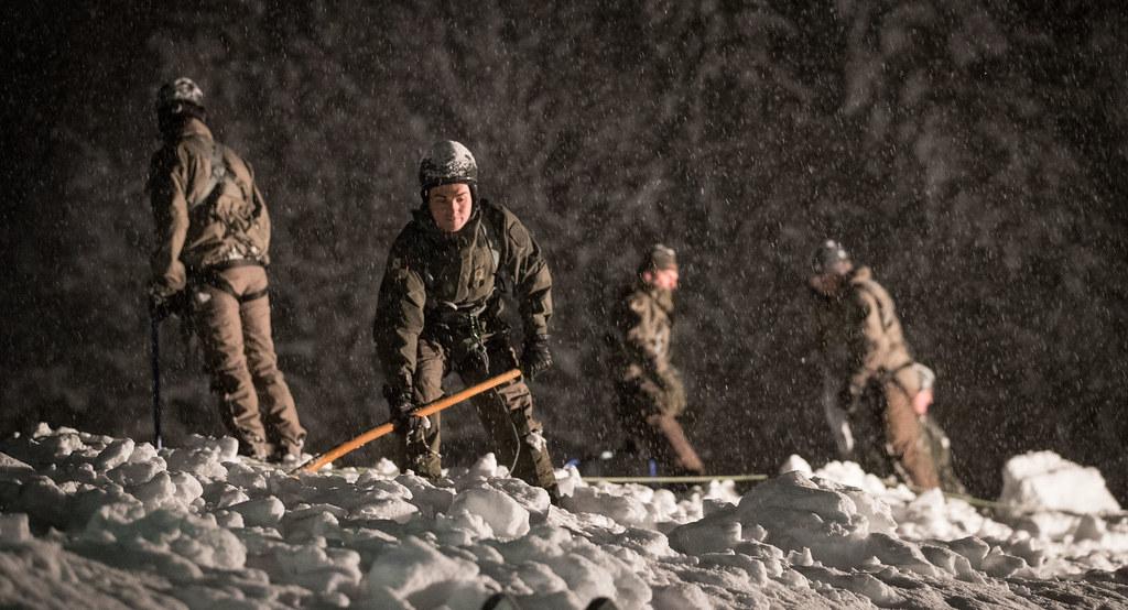 Heftige Schneefälle: Das Bundesheer hilft