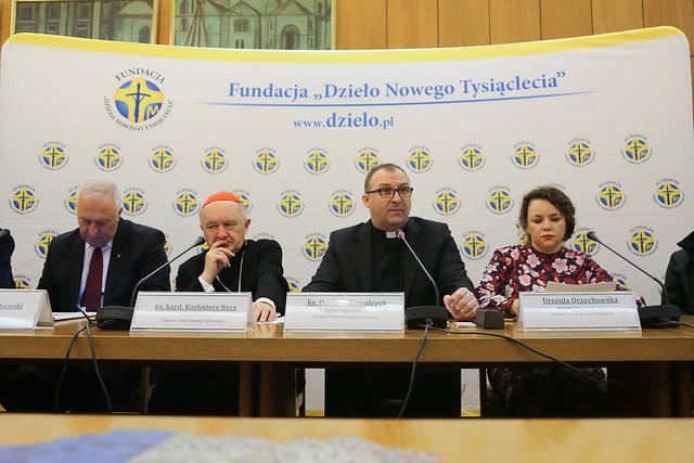 """Konferencja Prasowa - Fundacja """"Dzieło Nowego Tysiąclecia"""" - 16.01.2019"""