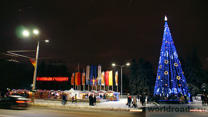 Новогодний Ростов
