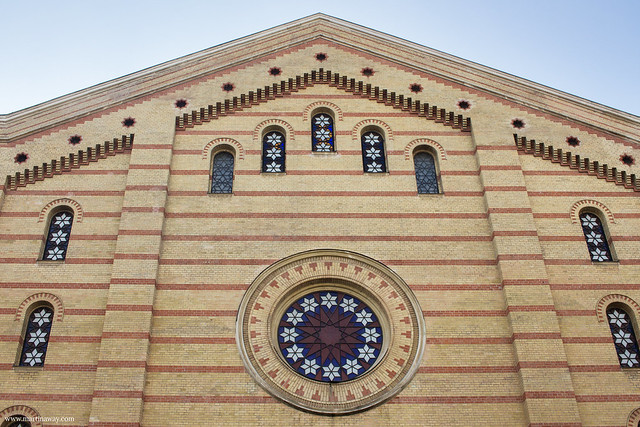 Sinagoga del quartiere ebraico di Budapest