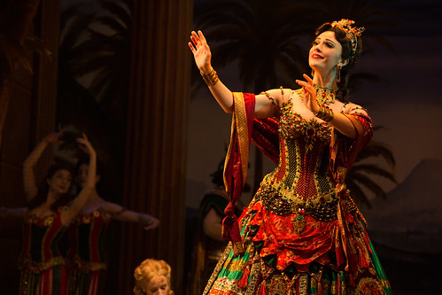 Trista Moldovan as Carlotta - photo Matthew Murphy. From Why You Need to See the Phantom of the Opera