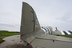 DC-3 Tail - Photo of Grangues