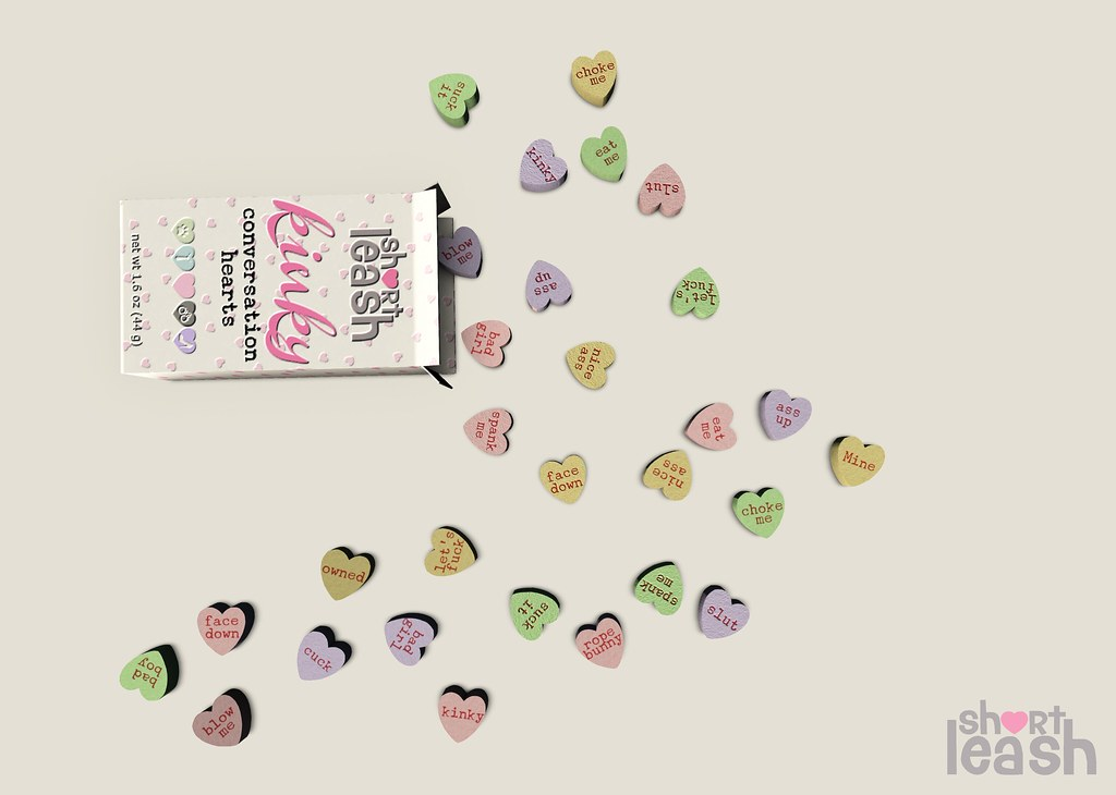 .:Short Leash:. Kinky Candy Hearts