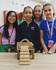 Our young engineers built a house for their own guinea pigs at home, right here in the MS Library Makerspace! #sasedu #sasmslib #sasmsadt @samericanschool