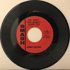 JIMMY CASTOR:HEY, LEROY, YOUR MAMA'S CALLIN' YOU(RECORD SIDE-A)