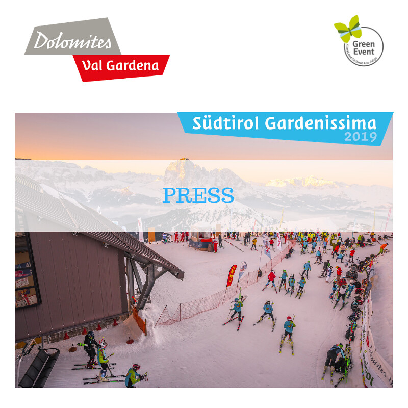 PRESS Südtirol Gardenissima 2019
