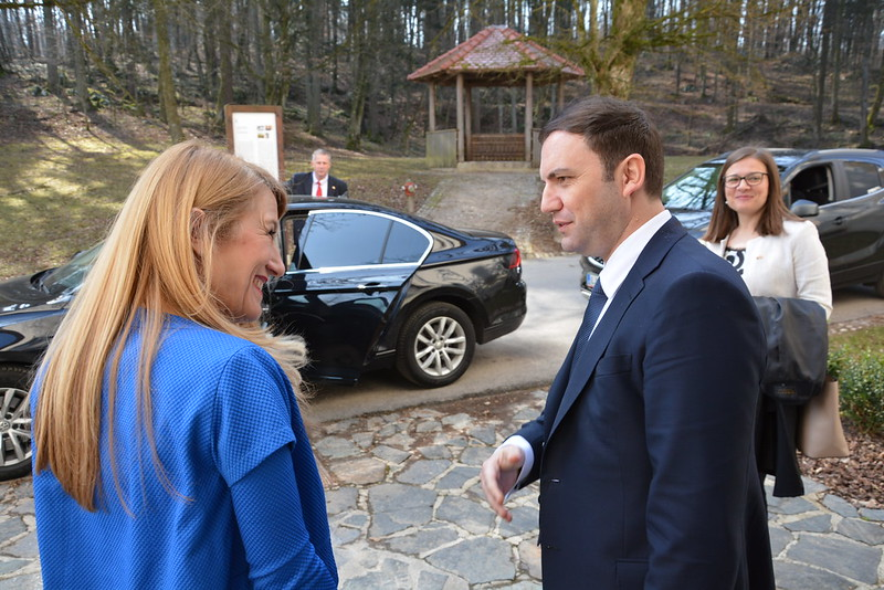 Visit of Deputy Prime Minister of the Republic of North Macedonia Bujar Osmani at Jable Castle