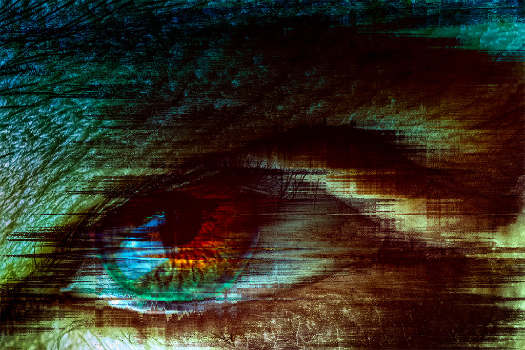 abstract eye photograph