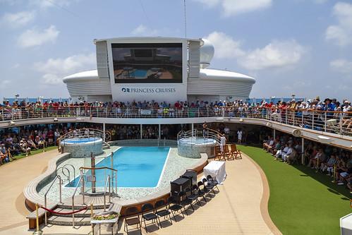 Crossing The Line Ceremony, Star Princess Cruise Ship