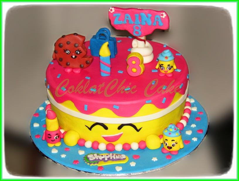Cake Shopkins ZAINA 24 cm