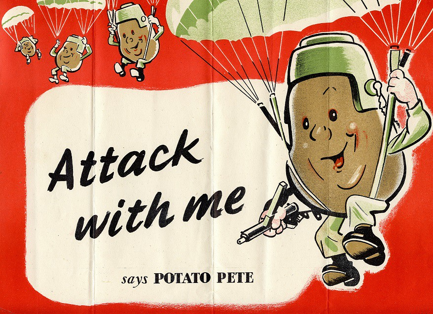 Attack with Me says Potato Pete
