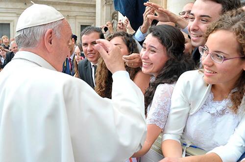 """""""Cristo vive"""", exhortación del Papa Francisco sobre el sínodo de los jóvenes"""