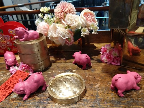 From the Mall: Pink pigs welcome the Year of the Pig