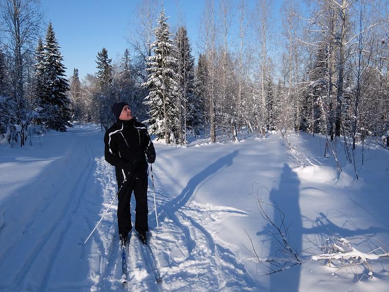 Новокузнецк - Кедровка - Прогулка на лыжах