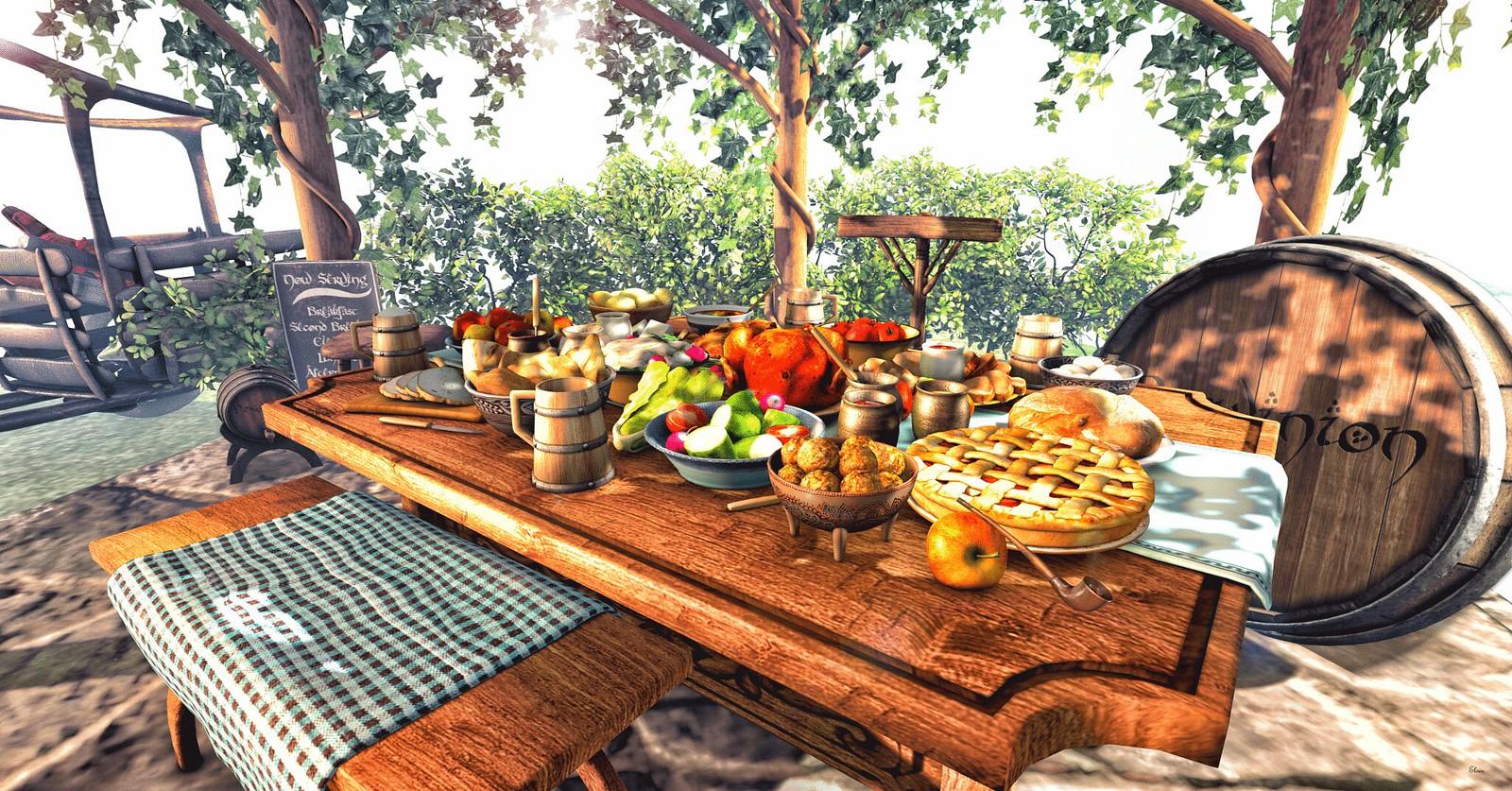 Hobbit's Dinner