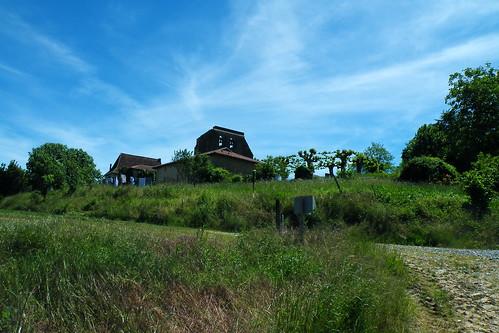 20090528 195 1107 Jakobus Pimbo Kirche Weg Hügel steil