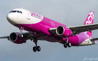 Airbus A320 Peach JA824P