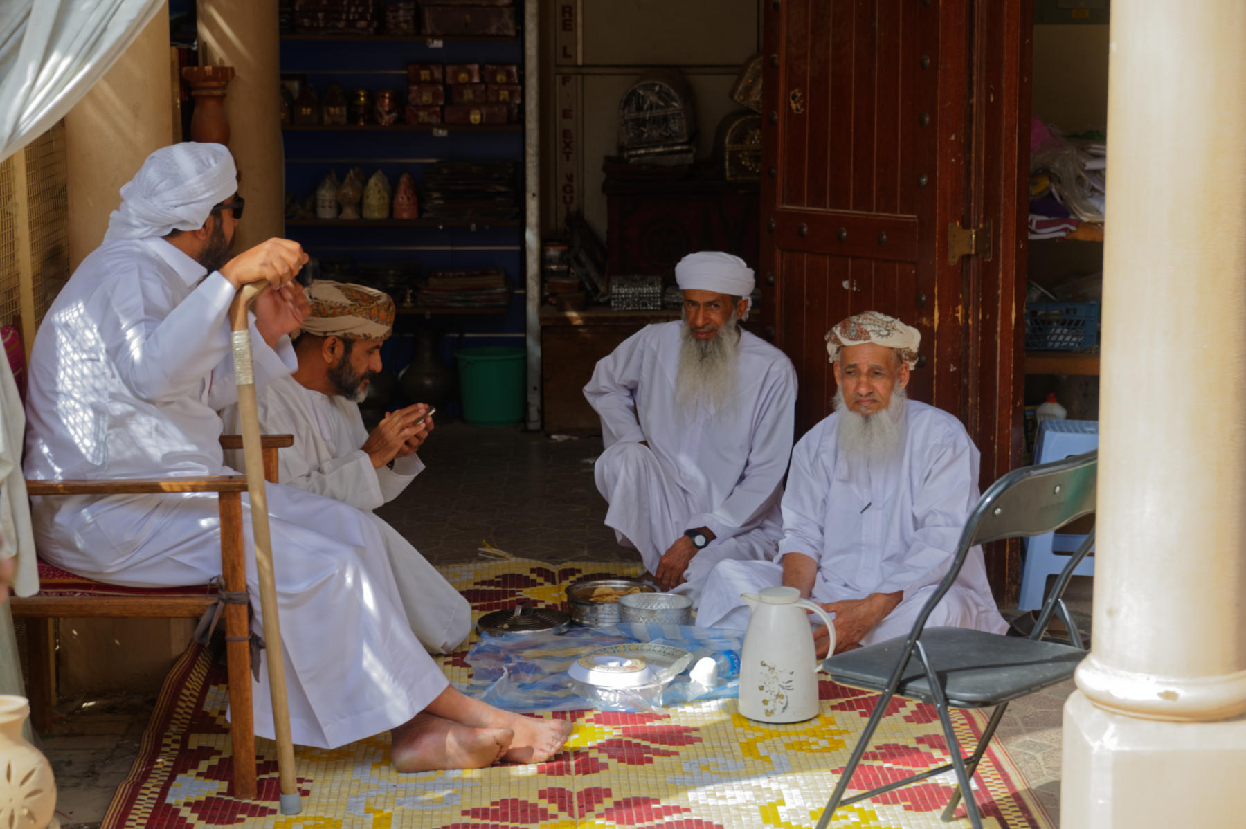 Nizwa Souq scene, Oman