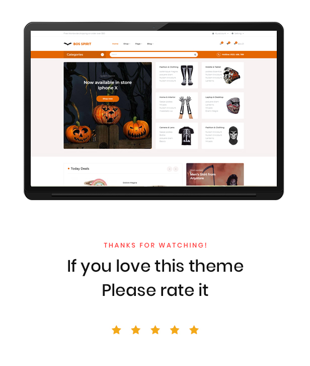 Ap Bosspirit Prestashop Halloween Themed Gifts - Best Review