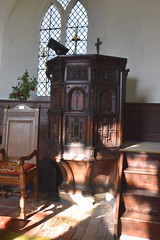 pulpit from St Mary at Quay, Ipswich