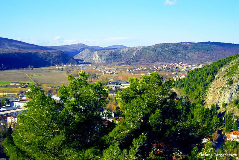Пейзаж от стен Верхнего города