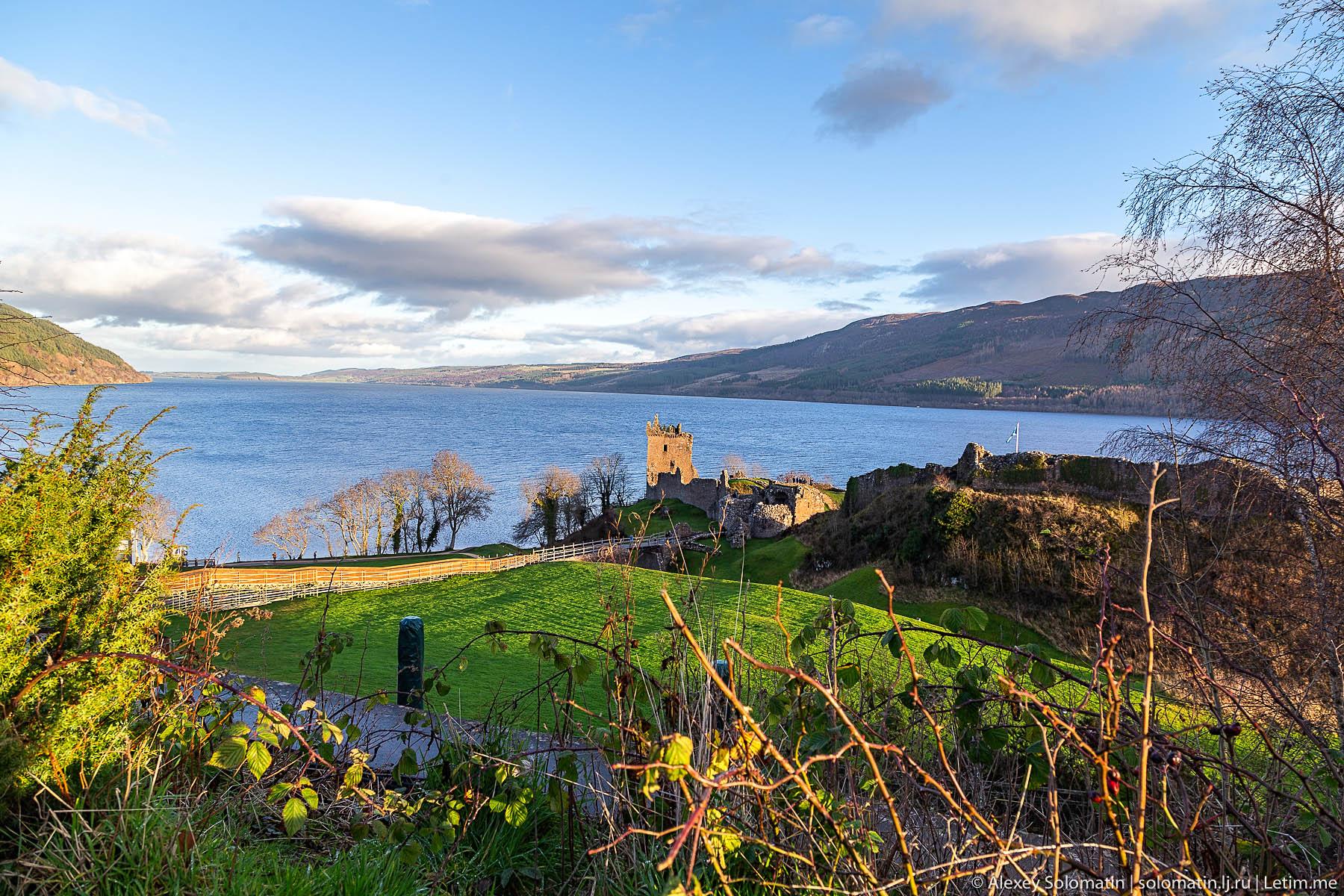 Озеро Лох-Несс. Шотландия. Путешествие. озера, ЛохНесс, очень, Несси, озеро, Шотландии, замка, берегу, просто, снимок, Инвернесса, замок, монстра, Аркарт, можно, Уилсон, живет, Тогда, окрестностях, является