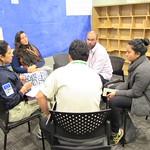 Algunas imágenes de la segunda jornada del Seminario de Buenas Prácticas de gestión integrada de áreas protegidas en el bioma amazónico. Las 45 experiencias fueron clasificadas por mesa de trabajo y se trabajaron 5 temáticas.