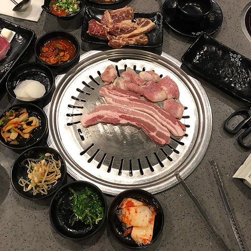 First time at new Korean hot pot and BBQ restaurant Goku. All you can eat for either or a little extra both. It was ok but competition is stiff in the Bay Area #koreanbbq #hotpot #koreanfood #goodeats | by Coach Ota
