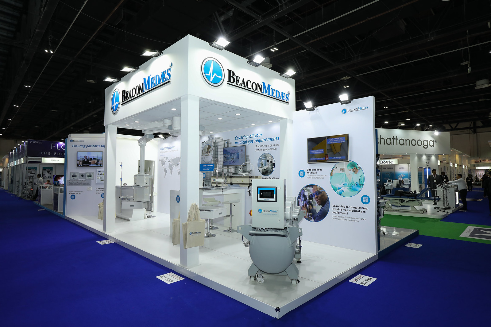 BeaconMedaes  at Arab Health 2019