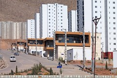 Cité d'IRAN - earthquake-resistant buildings à Téhéran - Maskan Mehr Project -