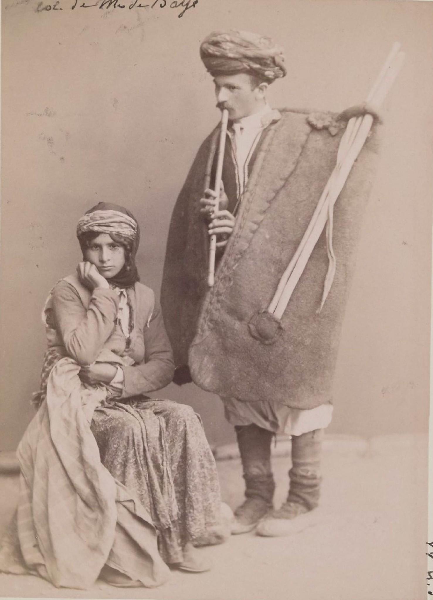 06. Карсская область. Курд-пастух с женой