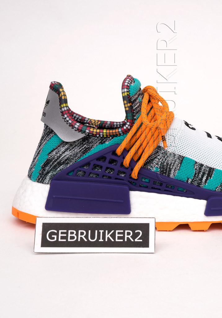 11adb1afe adidas Originals x Pharrell PW Afro Solar Pack Hu NMD Hi Res Aqua ...